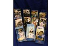 Compare the Market Meerkat collection in pristine condition.