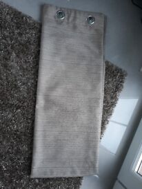 Rug and matching curtains - as new condition