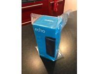 Brand new Amazon Echo unopened. RRP £89.99.