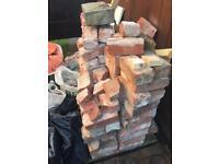 Around 100 engineering bricks, red 1920 grade 2