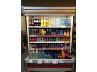 Multi purpose fridge and displays