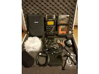 Tascam DR-100mkII Digital recorder & extras