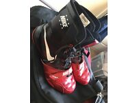 Hyper KO boxing boots (been worn twice look brand new)