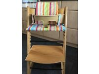 Stokke Tripp Trapp Chair with baby insert