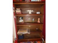 Antique Wernicke Display Cabinets bookshelves