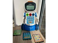Vtech Gadget the Learning Robot With 3 Cards, Educational Toy