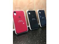 Brand New Apple iPhone X Silicone Cases