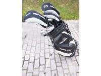 Golf bag, full set of clubs, trolley and loas of other accessories