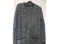 Chunky knit cardigan size 8