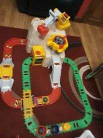Little tikes big adventure construction peak road and rail set