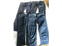 4 pair of BENETTON trousers