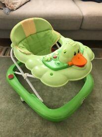 baby walker good condition