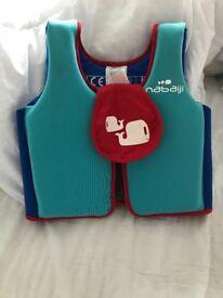 Swim vest life jacket like new