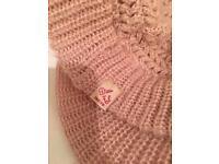Diesel pink winter hat