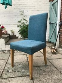 IKEA padded chair