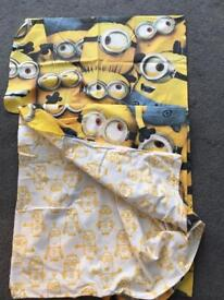 Minions duvet set and onesie