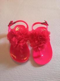 River Island brand new infant size 6 flip flops