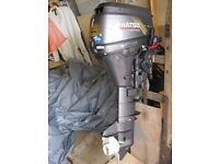 Outboard Motor Tohatsu 8HP 4-stroke SailDrive - Never been used