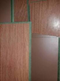 Laminate flooring used