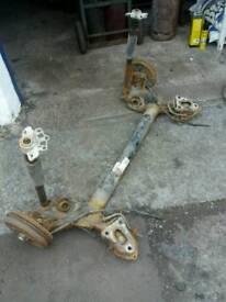 Fiat punto rear axle