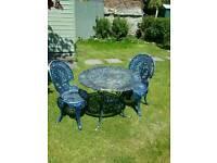 Cast Garden Furniture