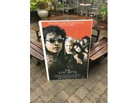 The Lost Boys & The Crow Brandon Lee Giant Film Posters Framed