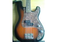 3/4 Bass Guitar - 4 String Jim Deacon