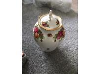Vintage decorative pot