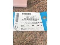 Demi Lovato tickets x 2 Birmingham Tues 12th June