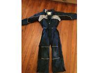 Boys or girls Rucanor ski suit. Size 140cm