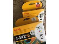 Kodak ink black and colour all sealed