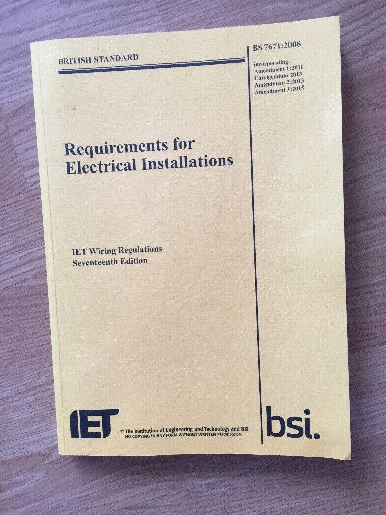 Peachy 17Th Edition Bs7671 Wiring Regulations In Chingford London Wiring Cloud Brecesaoduqqnet