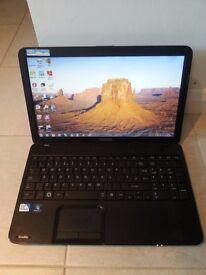 """Toshiba C850 laptop, Windows 7, 4GB Ram, 500GB Hard Drive, 15.6"""" Screen"""
