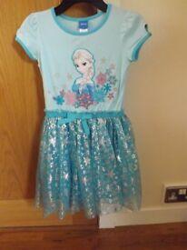 Girls Frozen Party Dress Age 6
