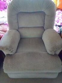 Recliner armchair very comfortable