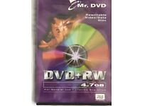 20 x ReWritable Video/Data Disc (DVD+RW)
