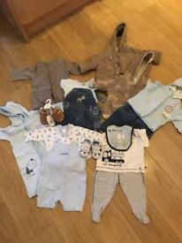 Baby boys NEXT clothes bundle 0-3months