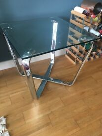 Glass Coffee/ Side Table - Used, V Good Condition