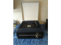 Vintage Serviced Fidelity HF45 Record Player