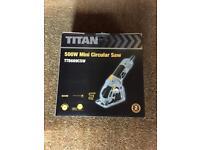 Titan mini circular saw