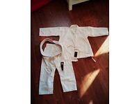 Karate kids brand new uniform
