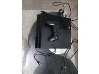 Ps4 (500gb) with one controller
