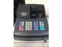 Sharp cash register shop till