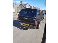 Isuzu Rodeo Denver 4 x 4 Pick Up Crewcab with Canopy and Load Liner