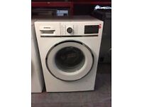 SIEMENS 8KG WHITE WASHING MACHINE