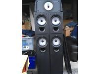 Kef surround sound speaker set up