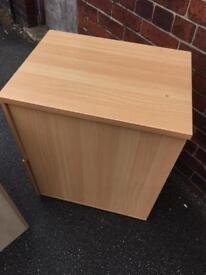 3draw filing cabinet beech