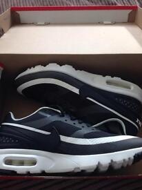 Nike Air Max BW Ultra Fashion Trainer - Black/White. Size 6