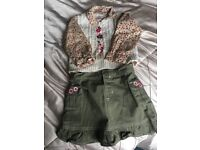 Girls designer outfit age 4 from America
