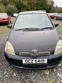 image for Toyota, YARIS, Hatchback, 2002, Manual, 998 (cc), 3 doors